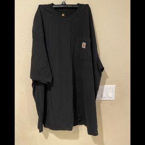 Carhartt classic  black short sleeve tee size 2x